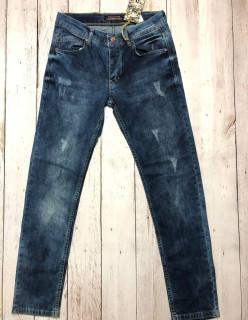 Мужские джинсы потертые 4546
