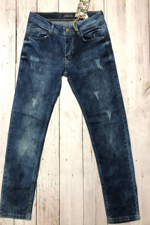 Мужские джинсы потертые 4546 | JEANS 24