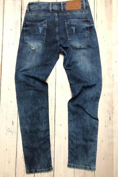 Мужские джинсы потертые 4546 фото | JEANS 24