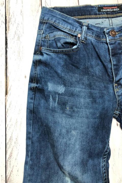 фото Мужские джинсы потертые 4546