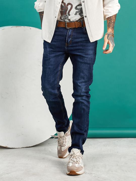 Мужские джинсы классические высокий рост 1566 фото