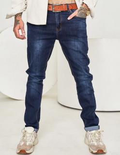 Мужские джинсы темно-синие 1567