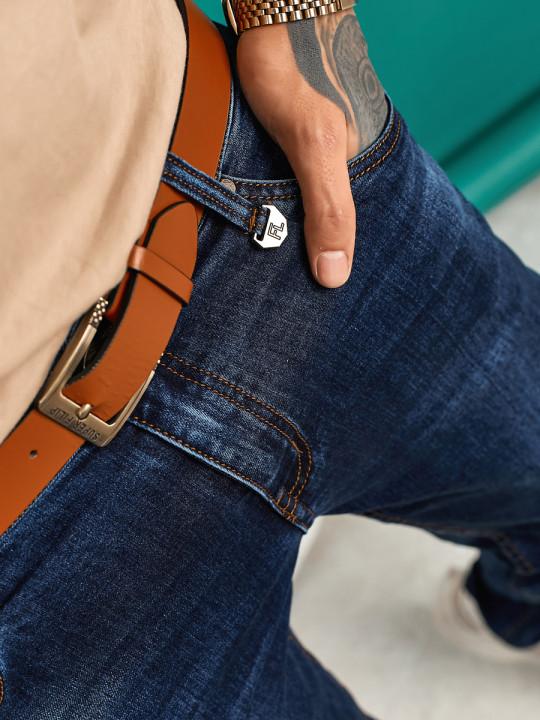 заказать Мужские джинсы подуженные 1557