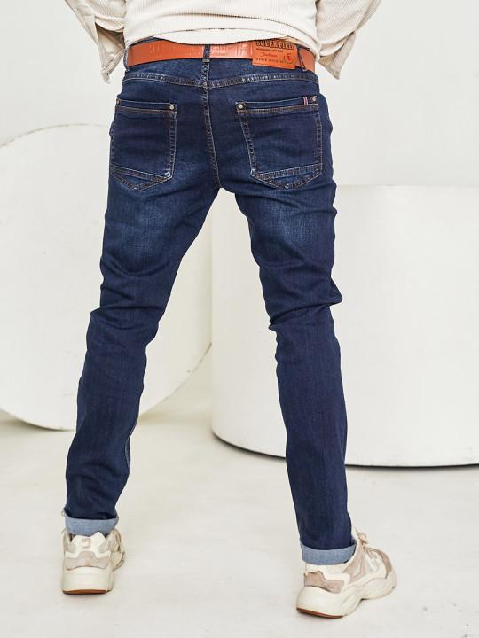 JEANS 24  - Чоловічі джинси темно-сині 1567