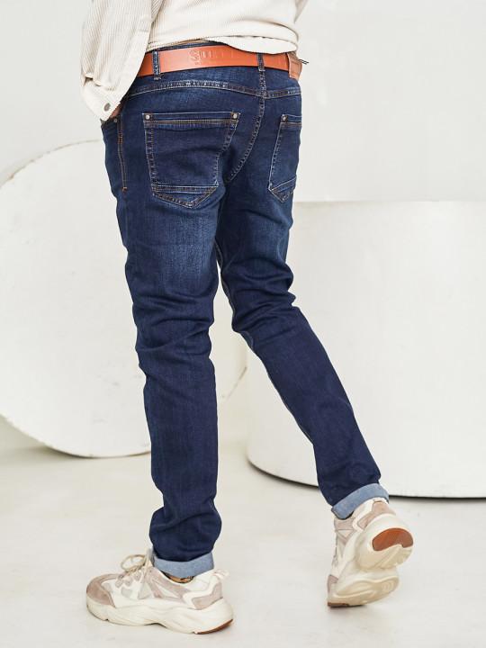 Чоловічі джинси темно-сині 1567 замовити по фото