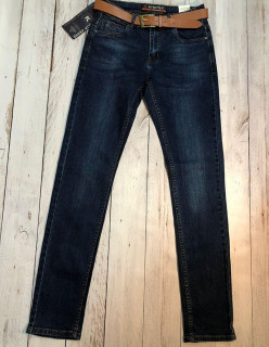 Чоловічі джинси темно-сині SF566