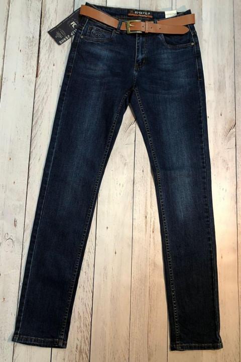 Чоловічі джинси темно-сині SF566 | JEANS 24