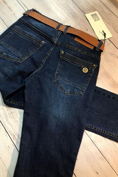 фото Чоловічі джинси темно-сині SF566 | JEANS 24