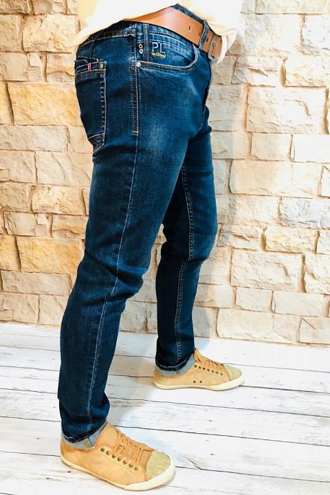 Мужские джинсы синие по ноге SF567 фото   JEANS 24