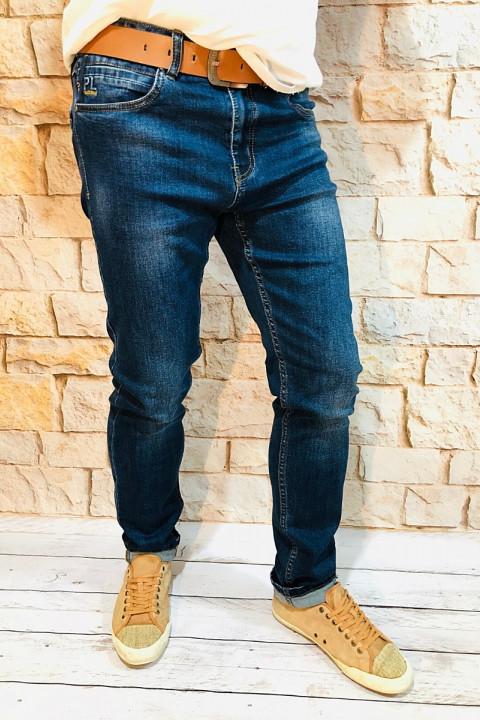 фото Мужские джинсы синие по ноге SF567   JEANS 24
