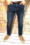 Чоловічі джинси темно-сині стретч SF569 | JEANS 24