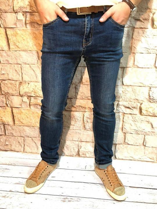 Мужские джинсы темно-синие стретч SF569 | JEANS 24