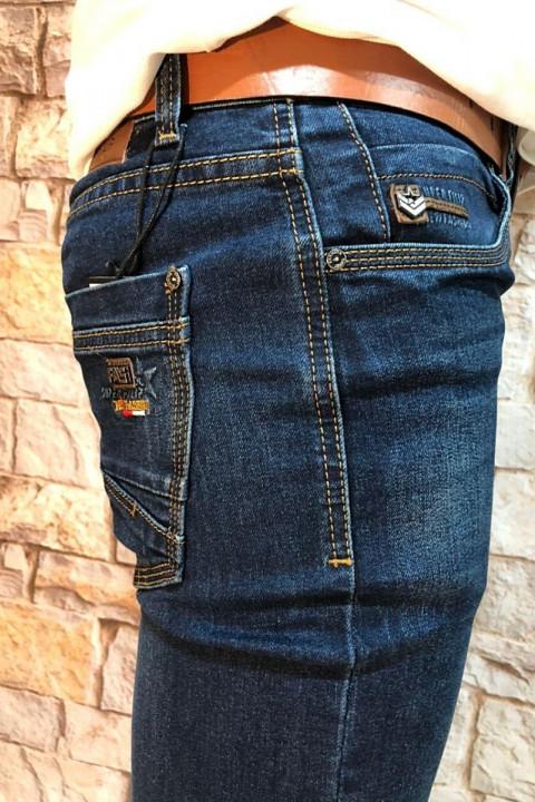 Мужские джинсы прямые по ноге SF619 фото | JEANS 24