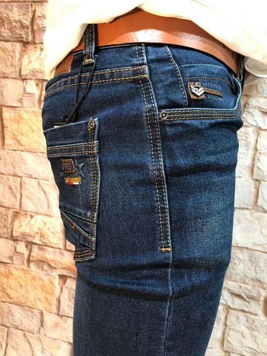 Чоловічі джинси прямі по нозі SF619 фото | JEANS 24