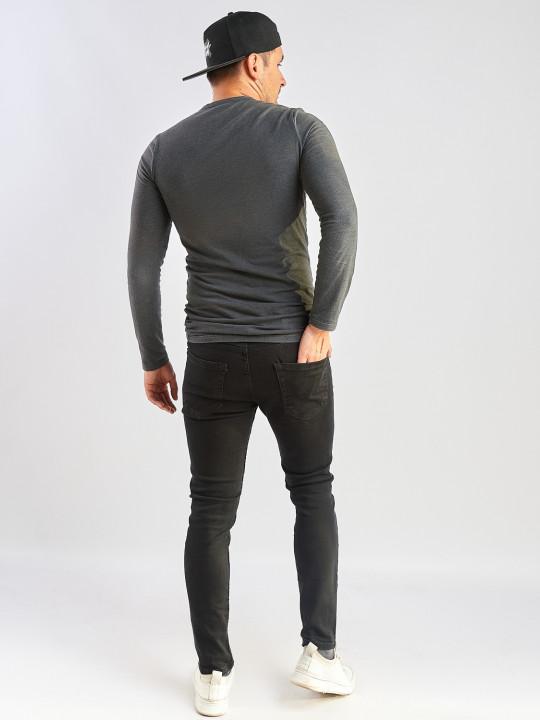фото  3  Чоловічі джинси чорні Slim fit 576 - JEANS24