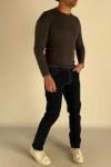 Чоловічі джинси без потертостей 530