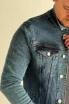 Джинсовая куртка винтажная